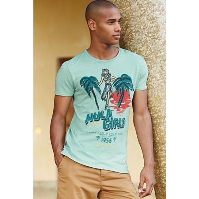 T-shirt manches courtes à imprimé Hula