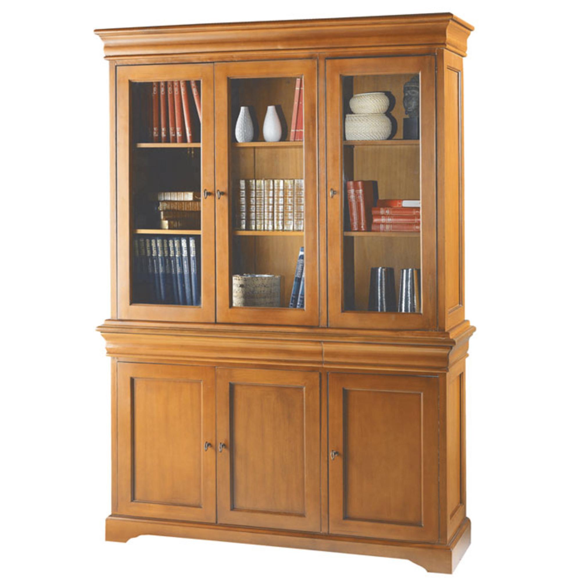 buffet vaissellier 6 portes style louis philippe merisier anniversaire 40 ans acheter ce. Black Bedroom Furniture Sets. Home Design Ideas