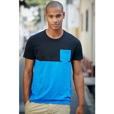 T-shirt manches courtes colour-block