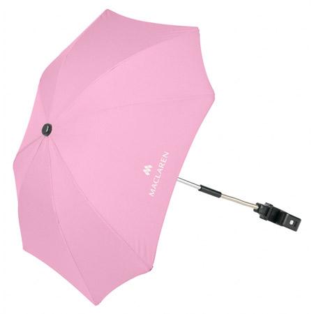 ombrelle universelle pour poussette maclaren powder pink. Black Bedroom Furniture Sets. Home Design Ideas