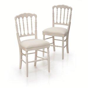 Les 2 Chaises Style Napoleon