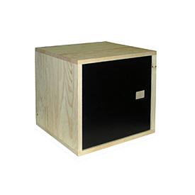 bloc 1 porte fa ade ardoise bhv selection acheter ce produit au meilleur prix. Black Bedroom Furniture Sets. Home Design Ideas