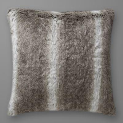 housse de coussin ou d 39 oreiller imitation fourrure acheter ce produit au meilleur prix. Black Bedroom Furniture Sets. Home Design Ideas