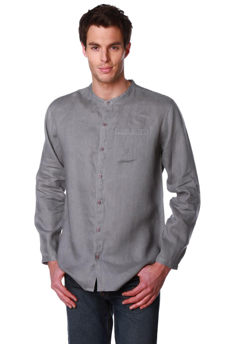 chemise col mao en lin homme acheter ce produit au meilleur prix. Black Bedroom Furniture Sets. Home Design Ideas