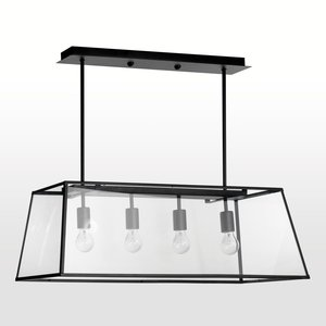 suspension m tal et verre ph bus acheter ce produit au meilleur prix. Black Bedroom Furniture Sets. Home Design Ideas