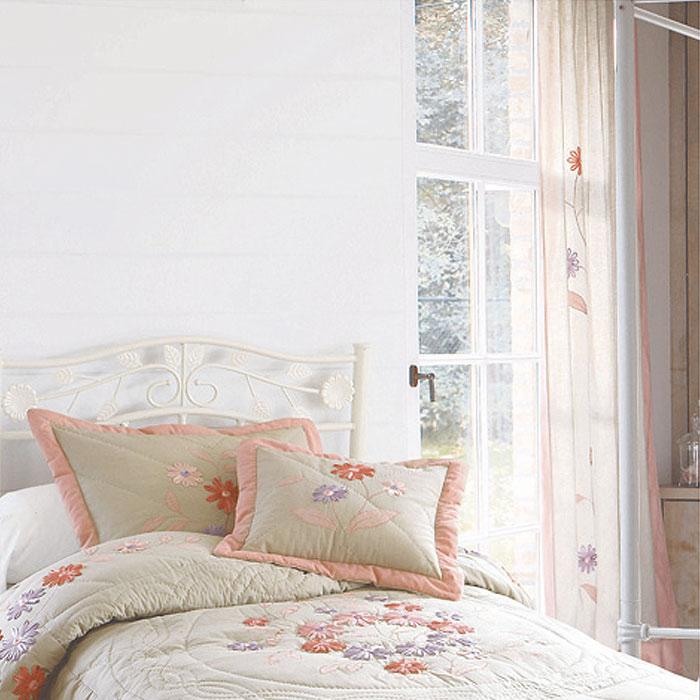 paire de rideaux pattes prairie lin rose acheter ce produit au meilleur prix. Black Bedroom Furniture Sets. Home Design Ideas