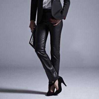 pantalon en cuir femme premium du 36 au 52 acheter ce produit au meilleur prix. Black Bedroom Furniture Sets. Home Design Ideas