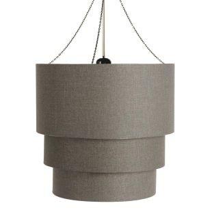 suspension tambour taupe acheter ce produit au meilleur prix. Black Bedroom Furniture Sets. Home Design Ideas