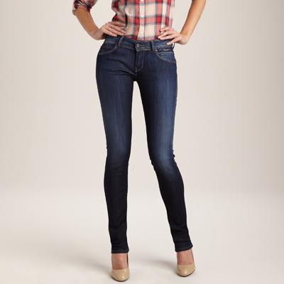 jean slim pepe jeans femme images. Black Bedroom Furniture Sets. Home Design Ideas