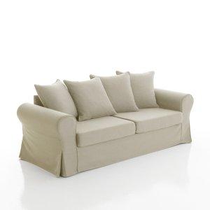 canap lin et polyester fixe ou convertible spencer acheter ce produit au meilleur prix. Black Bedroom Furniture Sets. Home Design Ideas