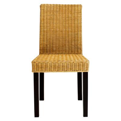 Lot de 4 chaises en rotin pi tement weng acheter ce for Prix chaise en rotin