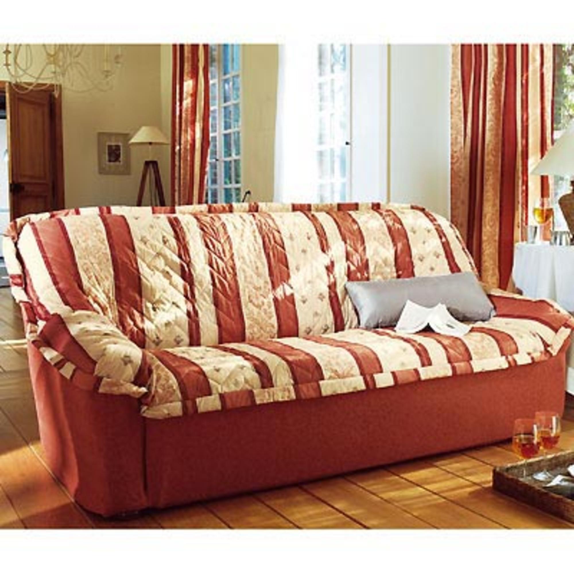 housse canap matelass e milan rouge frais de traitement de commande offerts acheter ce. Black Bedroom Furniture Sets. Home Design Ideas