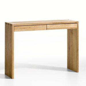 console 2 tiroirs pin massif acheter ce produit au meilleur prix. Black Bedroom Furniture Sets. Home Design Ideas