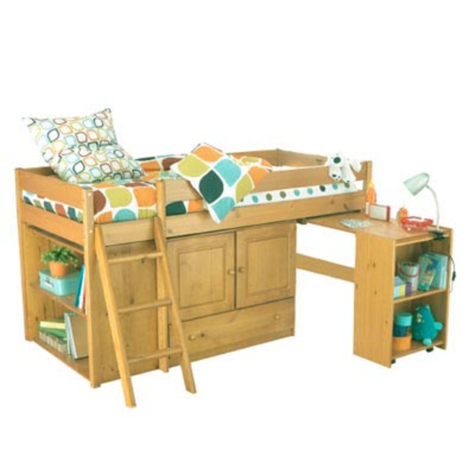 lit sur lev enfant haut alicia lit en bois pas cher. Black Bedroom Furniture Sets. Home Design Ideas