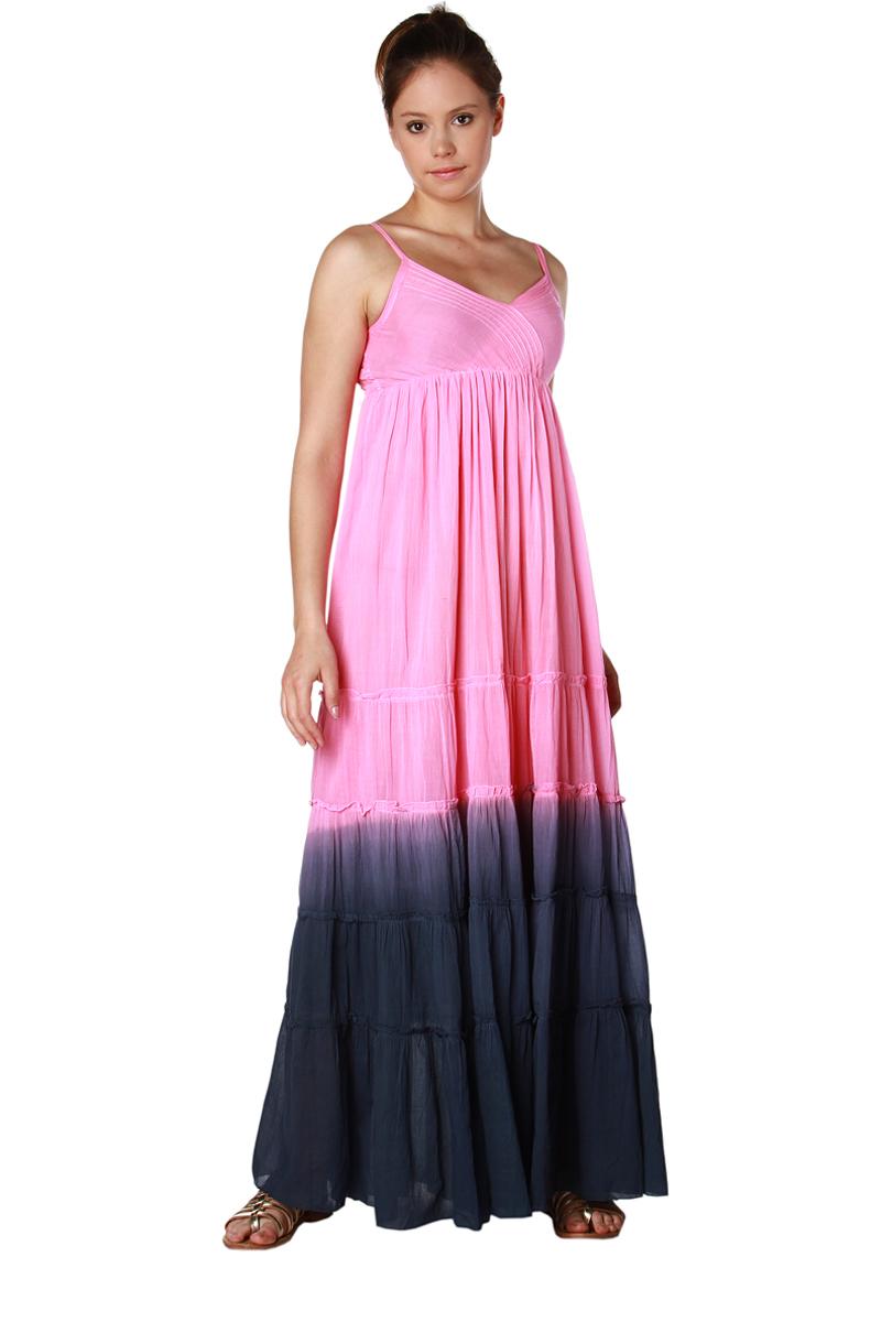 robe longue bretelles en coton tie and dye femme acheter ce produit au meilleur prix. Black Bedroom Furniture Sets. Home Design Ideas