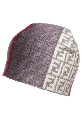 Fendi chapeau / bonnet multicolore