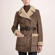 Sinequanone manteau peau