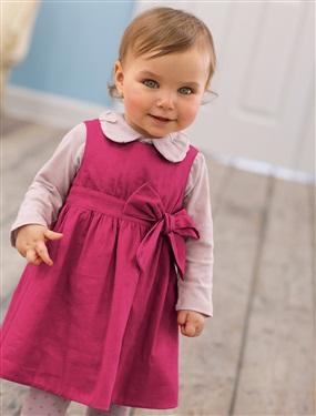 Robe bebe fille en satin de coton uni vertbaudet acheter for Chambre de bebe vertbaudet