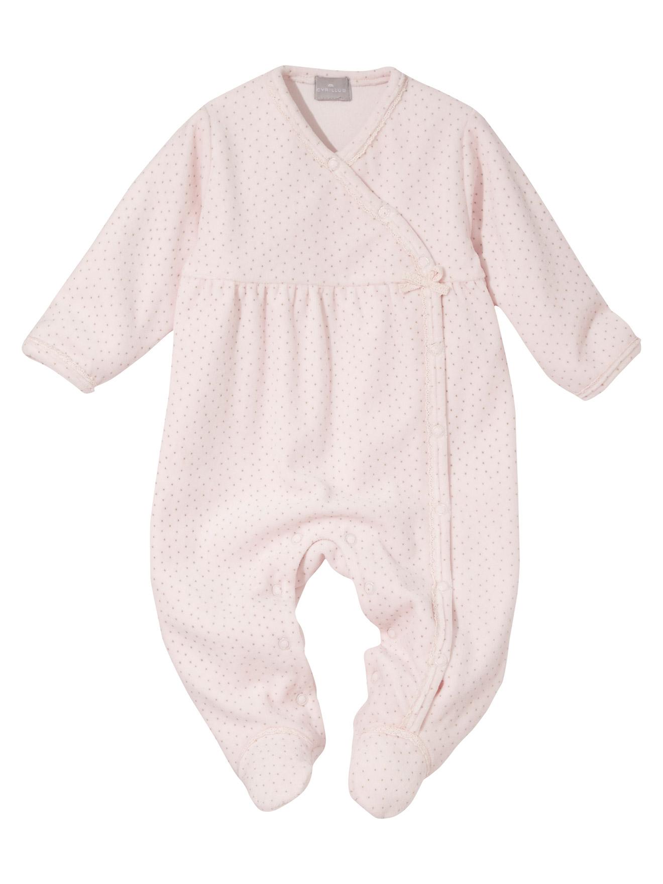 pyjama velours b b forme cache coeur acheter ce produit au meilleur prix. Black Bedroom Furniture Sets. Home Design Ideas