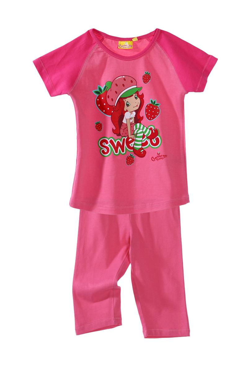 pyjama charlotte aux fraises du 3 au 6 ans fille acheter. Black Bedroom Furniture Sets. Home Design Ideas