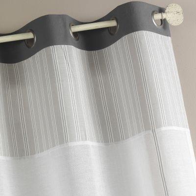 rideau semi occultant illets acheter ce produit au. Black Bedroom Furniture Sets. Home Design Ideas