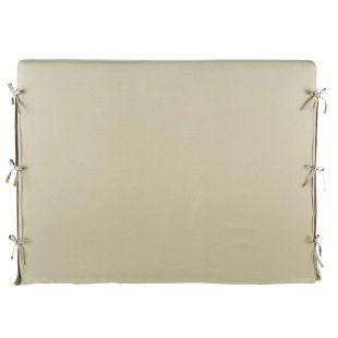 Housse t te de lit lin 140 cm dream acheter ce produit au meilleur prix - Housse tete de lit 140 ...