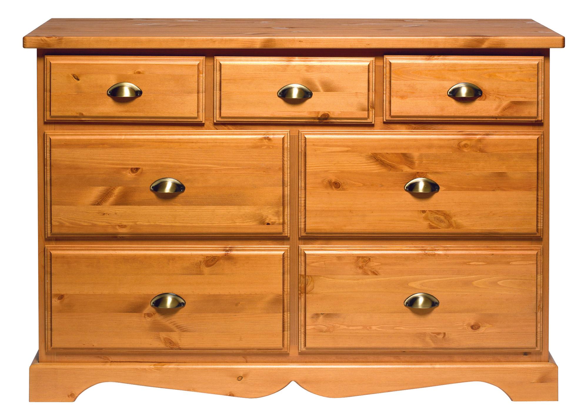 commode 7 tiroirs caroline pin anniversaire 40 ans acheter ce produit au meilleur prix. Black Bedroom Furniture Sets. Home Design Ideas