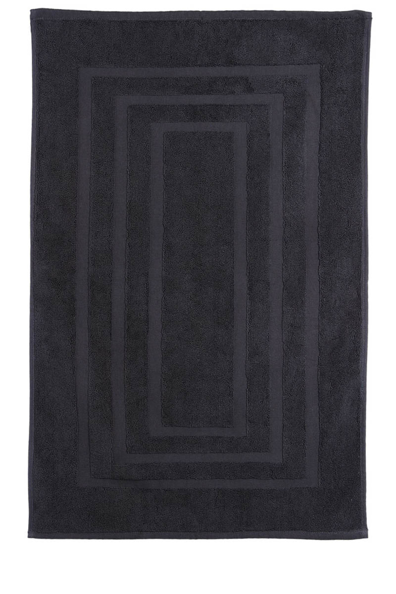 tapis de bain gris anthracite 50 x 85 cm acheter ce produit au meilleur prix. Black Bedroom Furniture Sets. Home Design Ideas