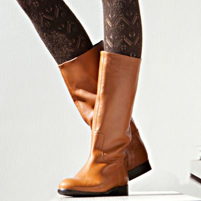 Chaussures bottes plates femme du 36 au 41
