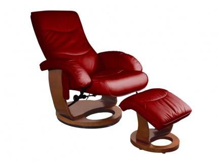 fauteuil de relaxation massant buffalo cuir rouge acheter ce produit au meilleur prix. Black Bedroom Furniture Sets. Home Design Ideas