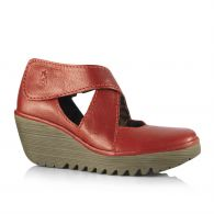 Chaussures Fly London rouges Casual femme 99LUWTBnZ