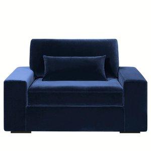 fauteuil xxl neige velours confort ferme acheter ce produit au meilleur prix. Black Bedroom Furniture Sets. Home Design Ideas