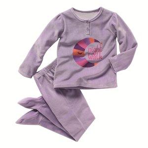 87e47c751de18 Pyjama enfant fille maille velours avec pieds - Acheter ce produit ...