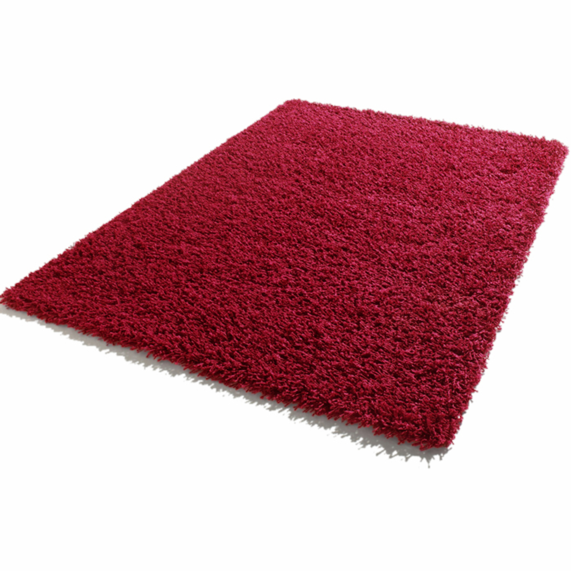 tapis longues m ches 120 x 170 cm shaggy rouge frais de traitement de commande offerts. Black Bedroom Furniture Sets. Home Design Ideas