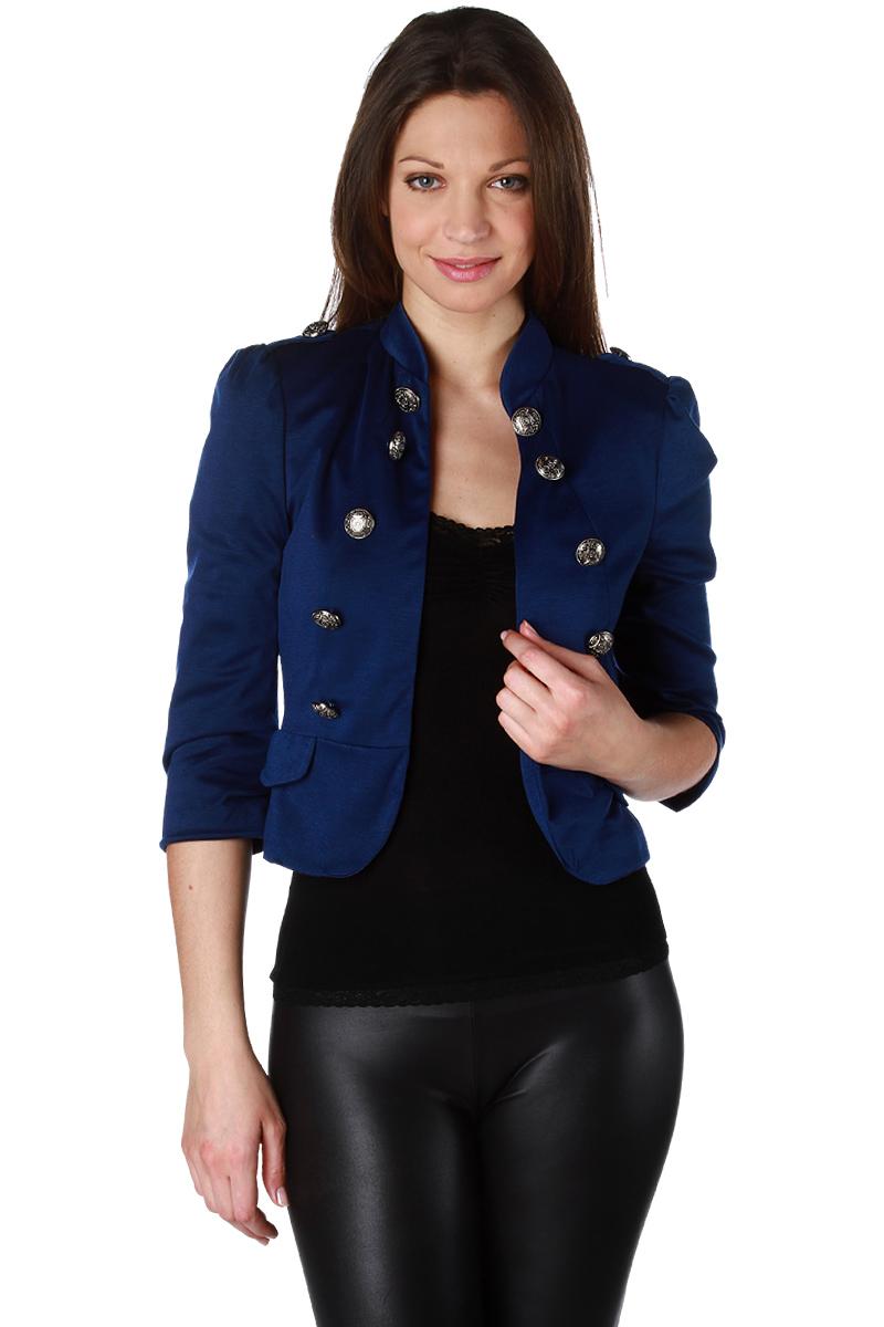 veste courte officier en maille milano femme acheter ce produit au meilleur prix. Black Bedroom Furniture Sets. Home Design Ideas