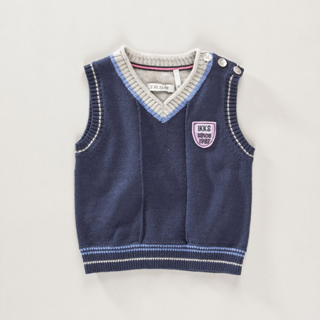tricot debardeur enfant