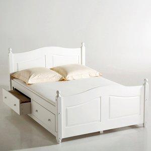 lit tiroirs pin massif 2 personnes acheter ce produit au meilleur prix. Black Bedroom Furniture Sets. Home Design Ideas