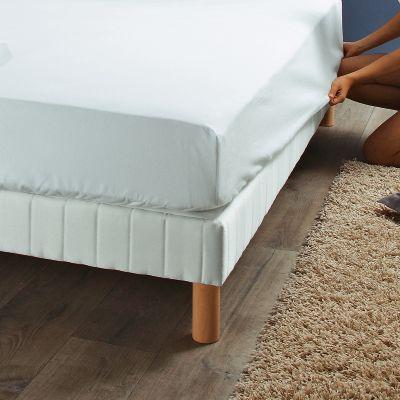 prot ge matelas luxe selenia forme drap housse en molleton pur coton acheter ce produit au. Black Bedroom Furniture Sets. Home Design Ideas