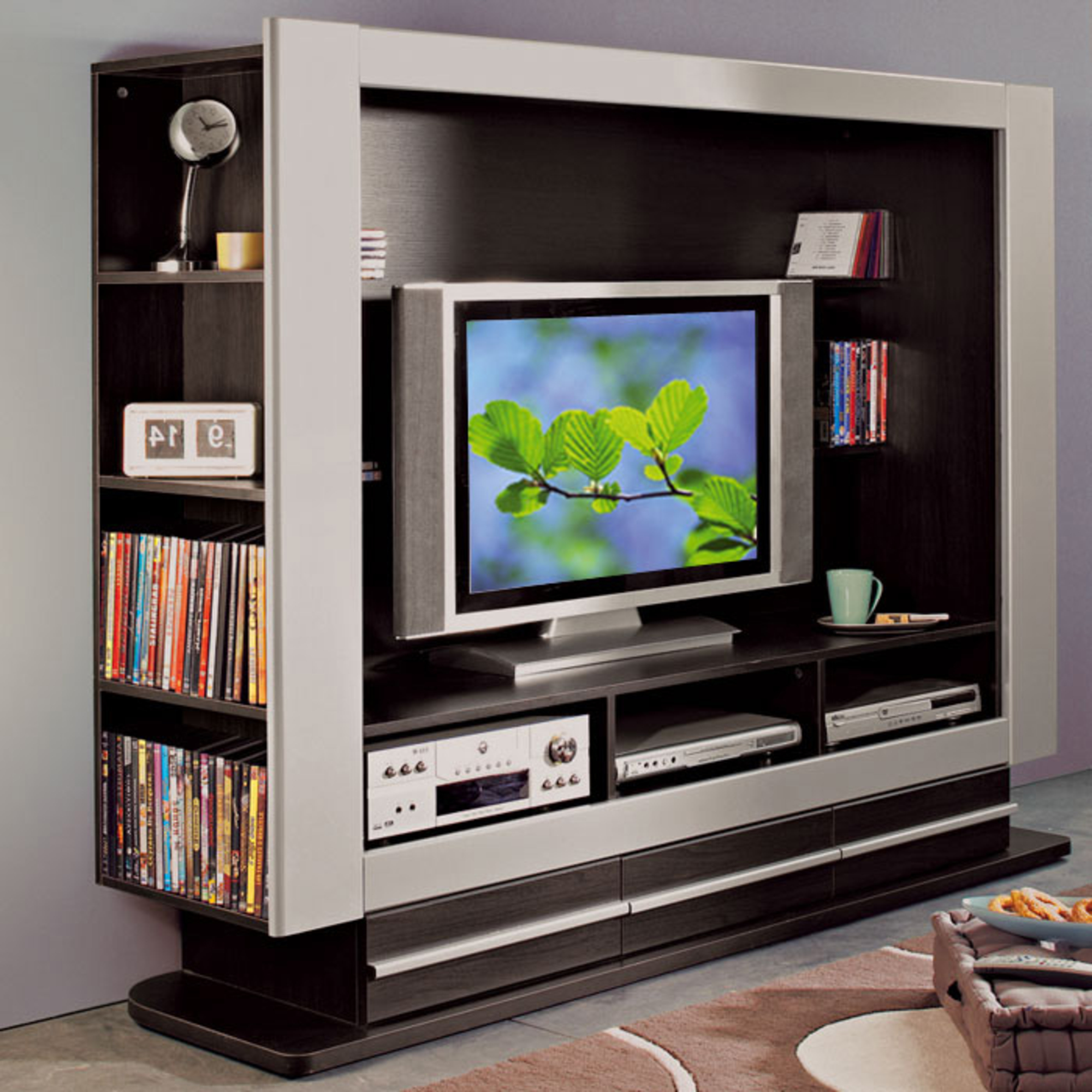 meuble tv ecran plat suspendu meilleures images d. Black Bedroom Furniture Sets. Home Design Ideas