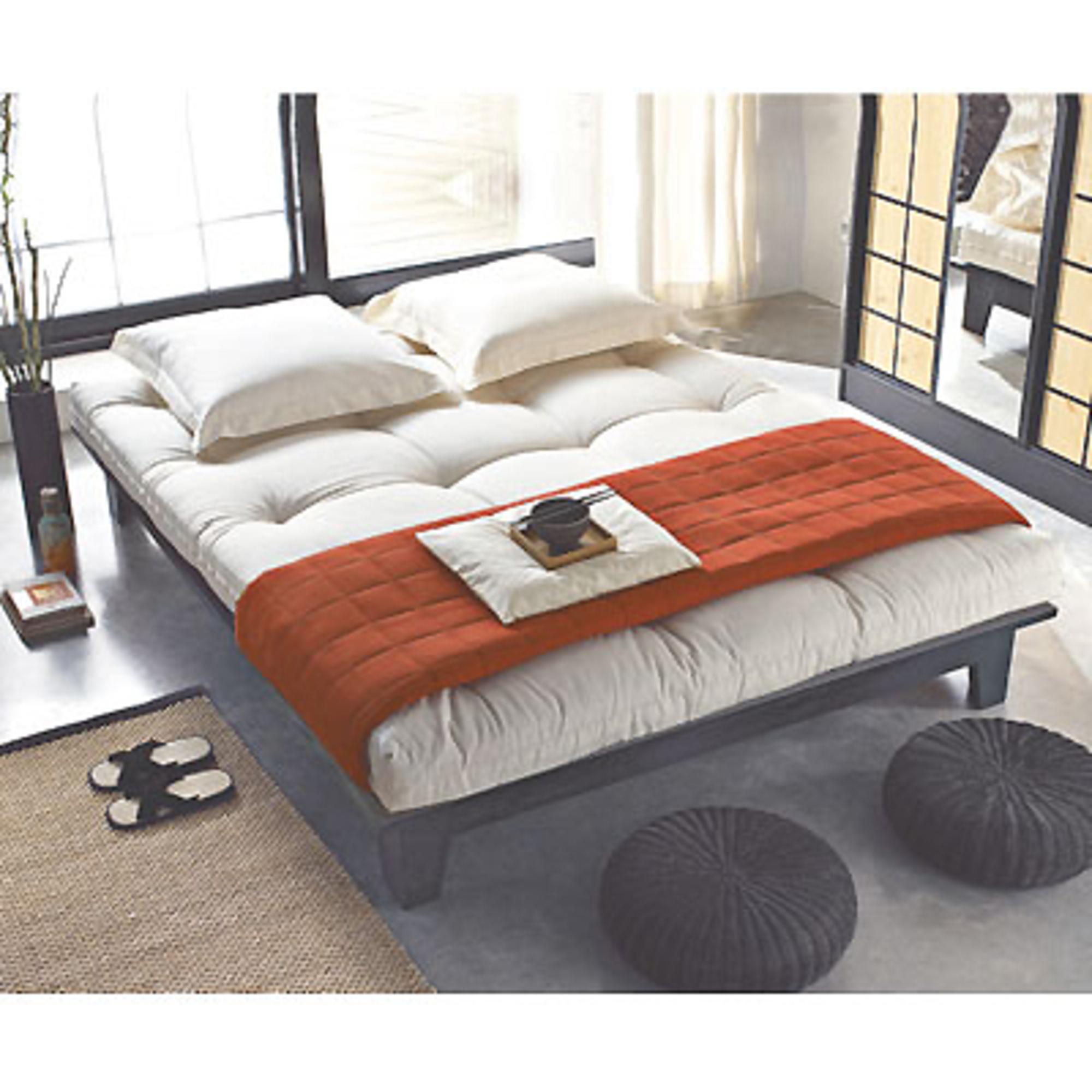 lit 160 x 200 cm sommier futon noir anniversaire 40 ans acheter ce produit au meilleur. Black Bedroom Furniture Sets. Home Design Ideas