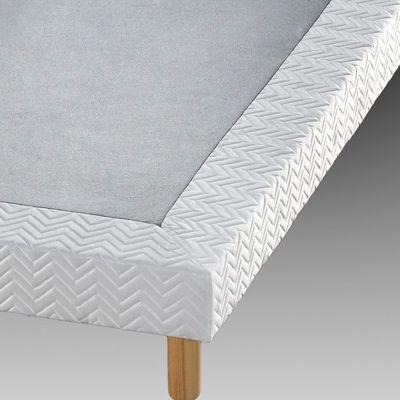 sommier tapissier lattes recouvertes s l nia dos sensible acheter ce produit au meilleur prix. Black Bedroom Furniture Sets. Home Design Ideas