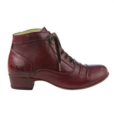 Exceptionnel Chaussures femme bottines à lacet ginger kickers du 36 au 41  UI35