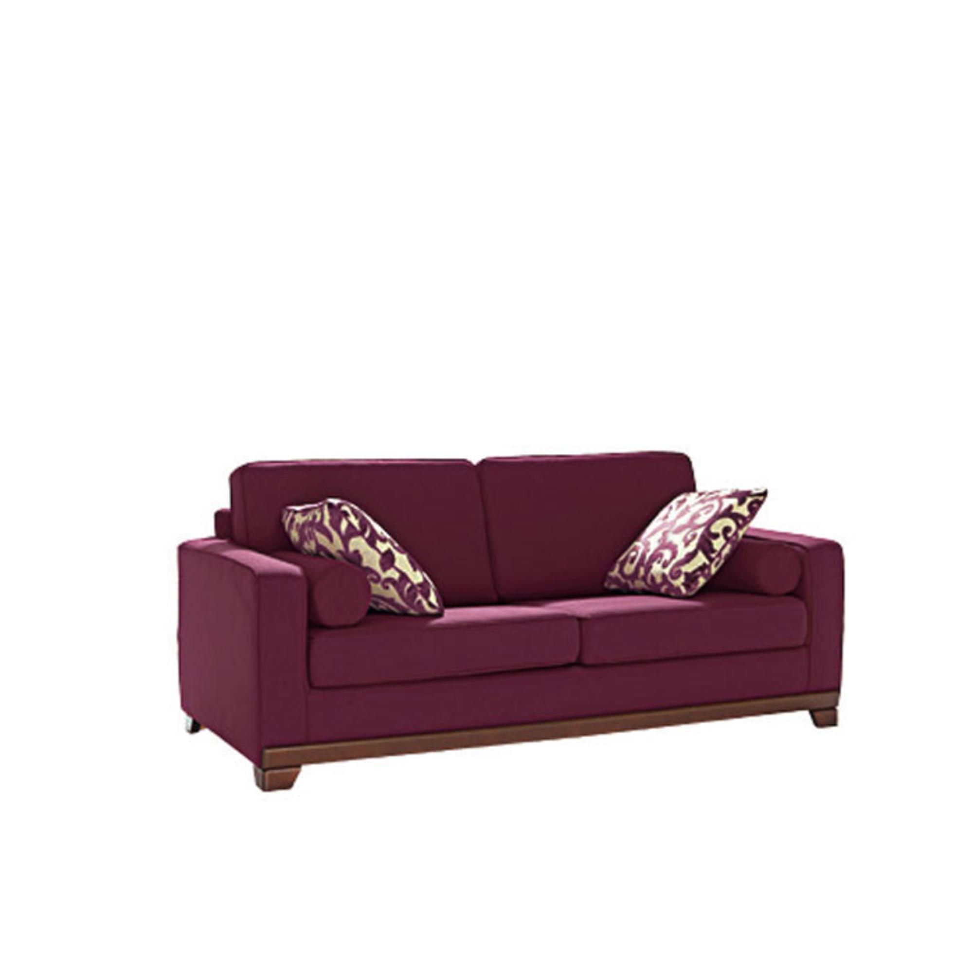 canap 2 places fixe neuilly aubergine anniversaire 40 ans acheter ce produit au meilleur. Black Bedroom Furniture Sets. Home Design Ideas