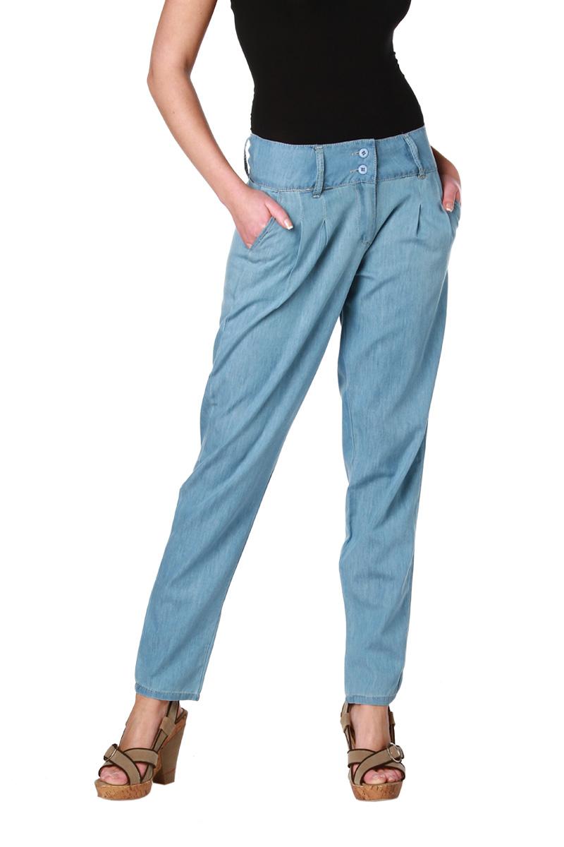 pantalon jean fluide en coton femme acheter ce produit au meilleur prix. Black Bedroom Furniture Sets. Home Design Ideas