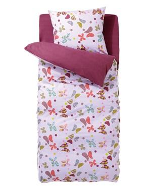 caradou avec couette couchage fille 4 pieces vertbaudet acheter ce produit au meilleur prix. Black Bedroom Furniture Sets. Home Design Ideas