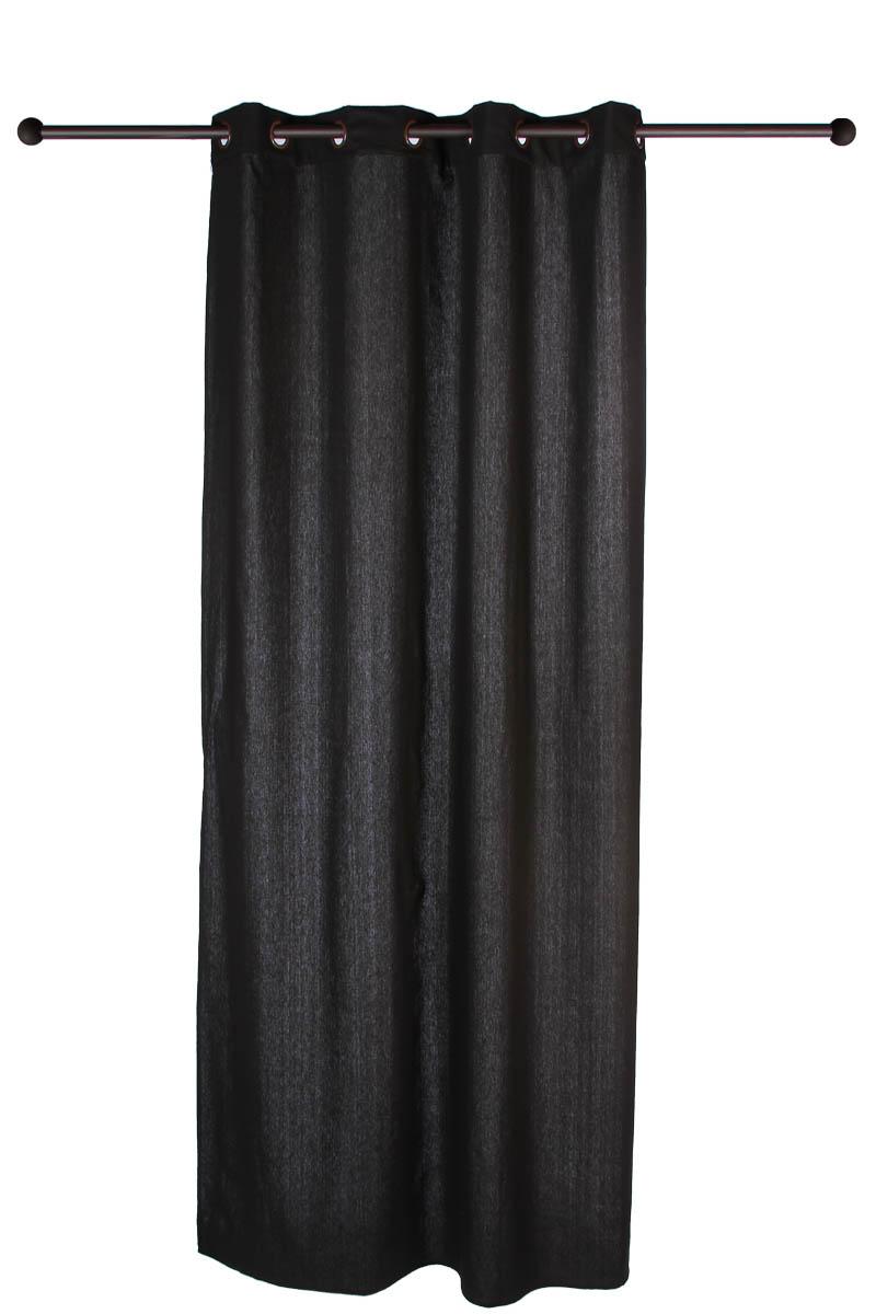 rideau oeillets lin et coton epais acheter ce produit au meilleur prix. Black Bedroom Furniture Sets. Home Design Ideas