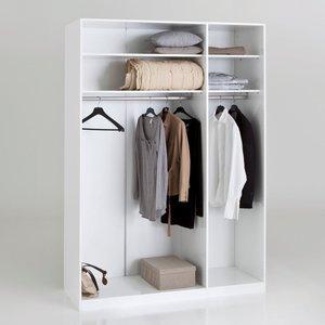 dressing portes battantes larg 150 h 220 cm build acheter ce produit au meilleur prix. Black Bedroom Furniture Sets. Home Design Ideas