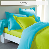 housse de couette turquoise vert anis. Black Bedroom Furniture Sets. Home Design Ideas