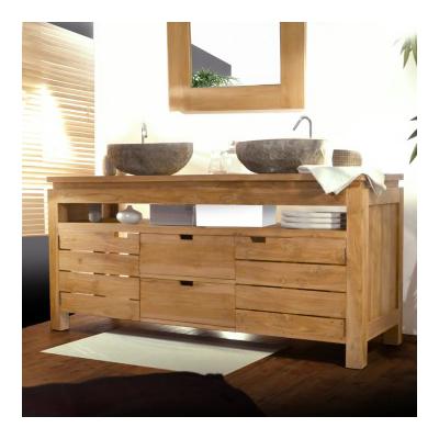 Serena xl tikamoon en bois massif acheter ce produit au - Meuble de salle de bain bois exotique ...