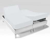 drap housse sp cial sommiers articul s en jersey extensible acheter ce produit au meilleur prix. Black Bedroom Furniture Sets. Home Design Ideas